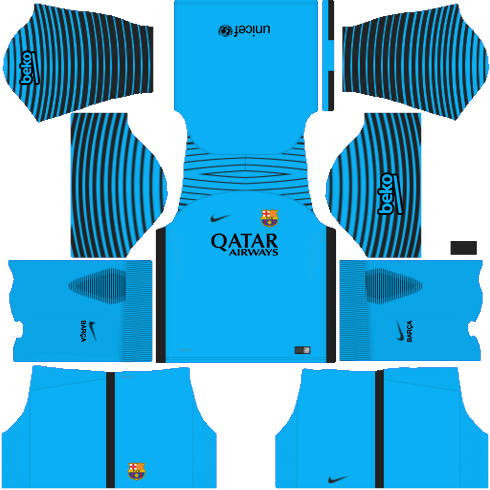 tag fc barcelona kit for dream league soccer 2018 waldon protese